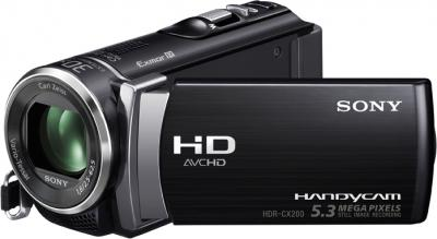 Видеокамера Sony HDR-CX200E Black - общий вид
