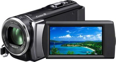 Видеокамера Sony HDR-CX200E Black - дисплей