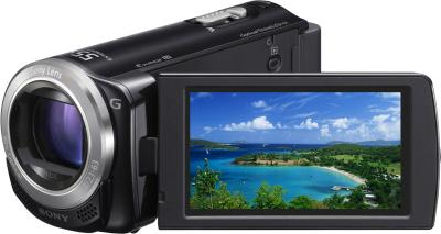 Видеокамера Sony HDR-CX250E Black - дисплей