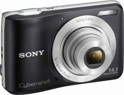 Компактный фотоаппарат Sony Cyber-shot DSC-S5000 Black - общий вид