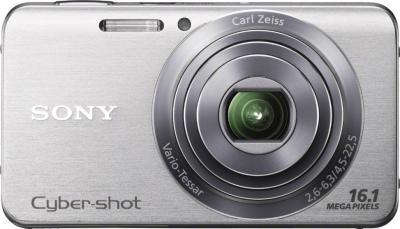 Компактный фотоаппарат Sony Cyber-shot DSC-W630 Silver - общий вид