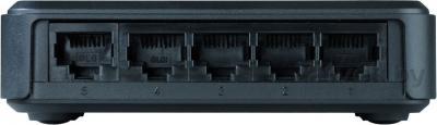 Коммутатор D-Link DES-1005A - вид сзади