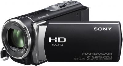 Видеокамера Sony HDR-CX190E В - общий вид