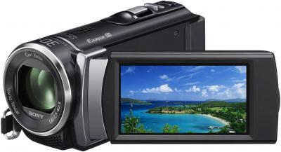 Видеокамера Sony HDR-CX190E В - дисплей
