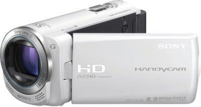 Видеокамера Sony HDR-CX250E White - общий вид