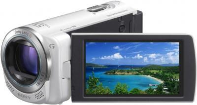 Видеокамера Sony HDR-CX250E White - дисплей