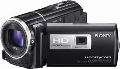 Видеокамера Sony HDR-PJ260VE - общий вид