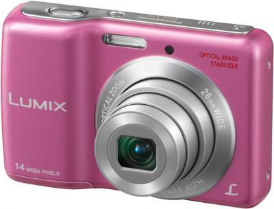 Компактный фотоаппарат Panasonic LUMIX DMC-LS5PA - общий вид