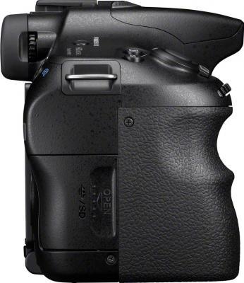 Зеркальный фотоаппарат Sony SLT-A65VK - вид сбоку
