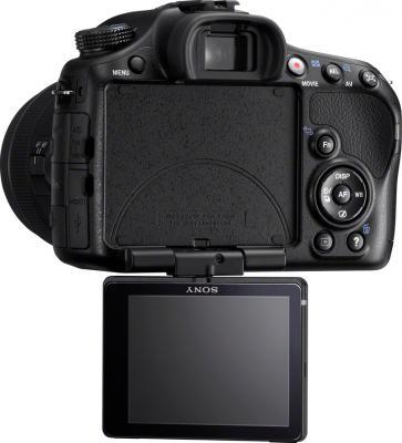 Зеркальный фотоаппарат Sony SLT-A65VK - вид сзади