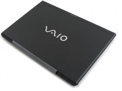 Ноутбук Sony VAIO VPCSE1V9R/B - сверху