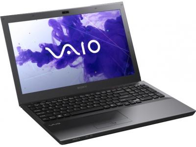 Ноутбук Sony VAIO VPCSE1V9R/B - спереди