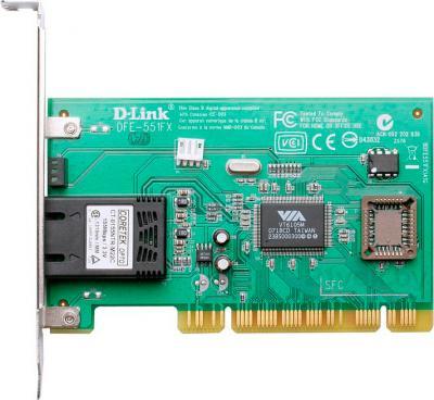 Сетевой адаптер D-Link DFE-551FX - общий вид