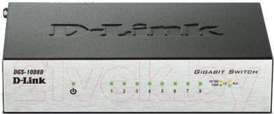 Коммутатор D-Link DGS-1008D/12B - общий вид
