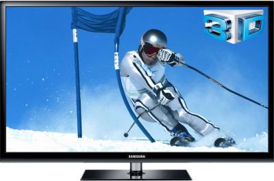 Телевизор Samsung PS43E490B2WXRU - вид спереди