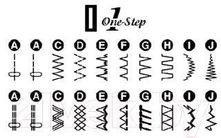 Швейная машина Janome 419S - швейные операции