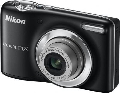 Компактный фотоаппарат Nikon Coolpix L25 (Black) - общий вид