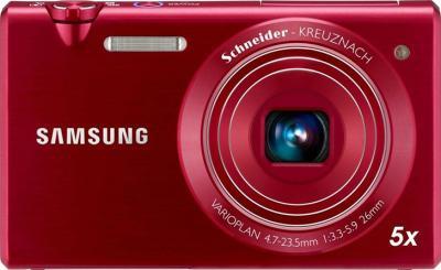 Компактный фотоаппарат Samsung MV800 (EC-MV800ZBPRRU) Red - общий вид