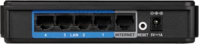 Коммутатор D-Link DIR-100 - вид сзади