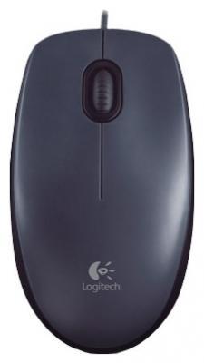 Мышь Logitech M100 (910-001604) - общий вид