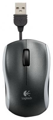 Мышь Logitech M125 Black USB - общий вид