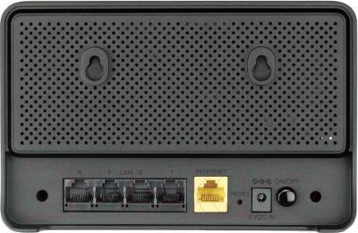 Беспроводной маршрутизатор D-Link DIR-615 - вид сзади