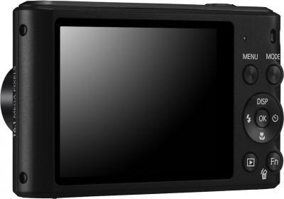 Компактный фотоаппарат Samsung ST66 (EC-ST66ZZBPBRU) Black - вид сзади