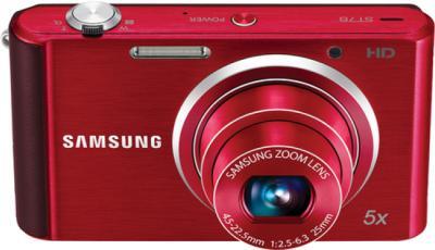 Компактный фотоаппарат Samsung ST76 (EC-ST76ZZBPRRU) Red - общий вид