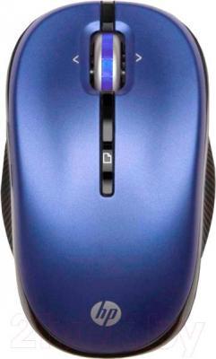 Мышь HP LX731AA (синий) - общий вид
