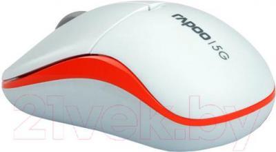 Мышь Rapoo 1090p (белый) - общий вид