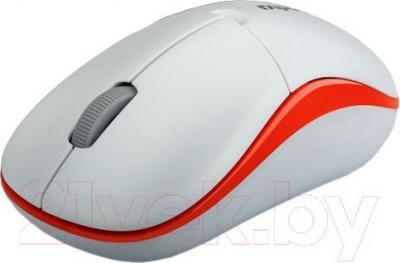 Мышь Rapoo 1190 (белый) - вид сбоку