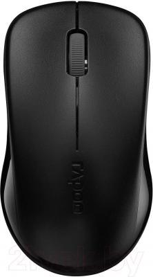 Мышь Rapoo 1620 (черный) - общий вид