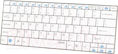 Клавиатура Rapoo E9050 (белый) - общий вид