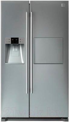 Холодильник с морозильником Daewoo FRN-Q19FAS - общий вид