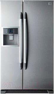 Холодильник с морозильником Daewoo FRS-U20DDS - общий вид