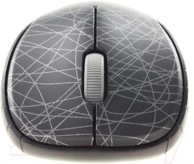 Мышь Rapoo 6080 (черный) - общий вид