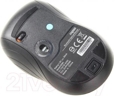 Мышь Rapoo 6080 (черный) - вид снизу