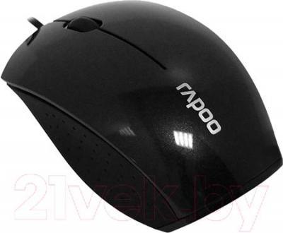 Мышь Rapoo N3500 (черный) - общий вид