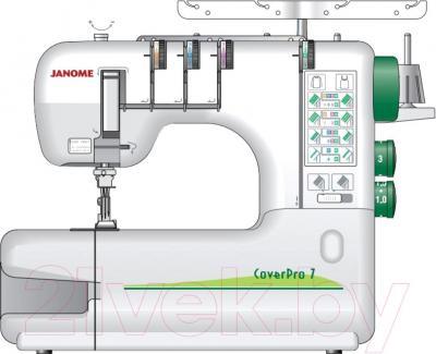 Распошивальная машина Janome Cover Pro 7 - общий вид