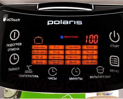 Мультиварка Polaris PMC 0517 Expert (черный) - дисплей