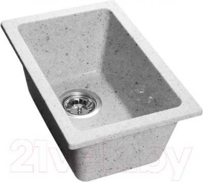 Мойка кухонная GranFest GF-2540 (серый) - общий вид (образец цвета может отличаться от реального цвета мойки)