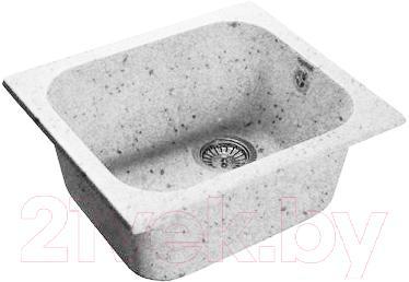 Мойка кухонная GranFest GF-3540 (серый) - общий вид (образец цвета может отличаться от реального цвета мойки)
