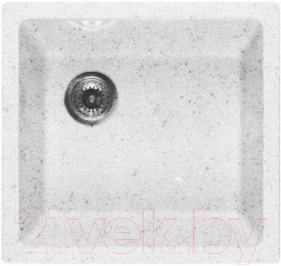 Мойка кухонная GranFest GF-4540 (серый) - общий вид (образец цвета может отличаться от реального цвета мойки)