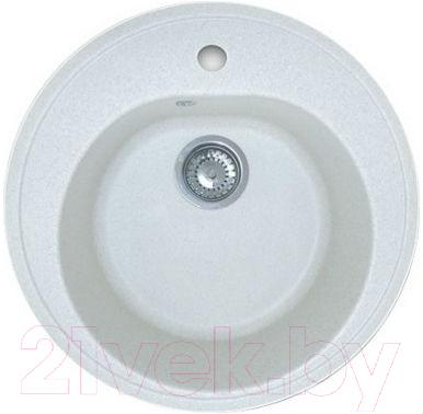 Мойка кухонная Эко-М M-08 (белый)