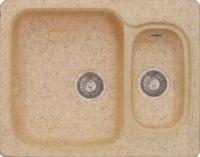 Мойка кухонная Эко-М M-09 (бежевый) -