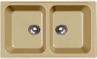 Мойка кухонная Эко-М M-78K (бежевый) -