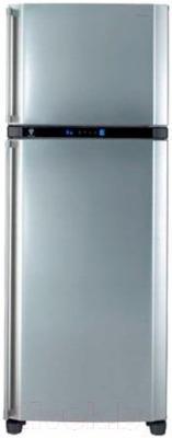 Холодильник с морозильником Sharp SJ-PT441RHS - общий вид