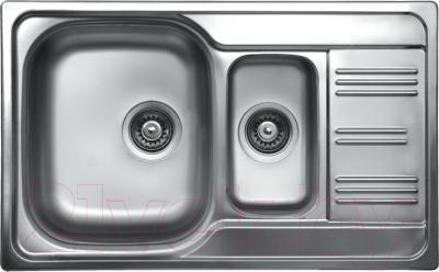 Мойка кухонная Kromevye Colea EX 306 - общий вид