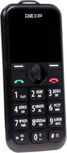 Мобильный телефон DEXP Larus Senior (черный)