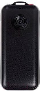 Мобильный телефон DEXP Larus Senior (черный) - вид сзади